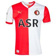 Feyenoord Home Jersey 2012/13 飛燕諾主場球衣2012/13 US$74.20 HK$578.76