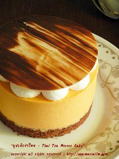 แม่สลิ่ม : Thai Taste – Thai Tea Mousse Cake