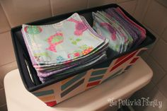 We gave up toilet paper! (& switched to family cloth)  Not for everyone, but I think this is great.  We've used cloth wipes for our babies, so it's not a leap for us.