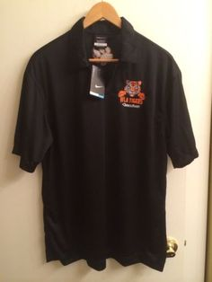 Nike Tiger Dry Fit Golf Polo Shirt Sz L Brand New Tags Light Weight Summer Dri