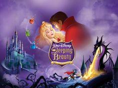 Sleeping Beauty - castle, fairies, princess, prince, dragon