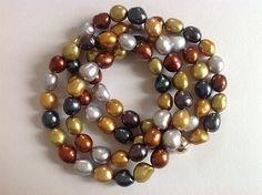Bellas bedrifter: Min nye lange perlekæde ... og noget om dupsko...