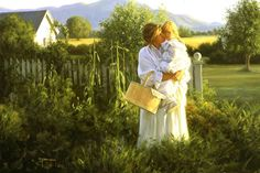 A morning hug  by Robert Duncan