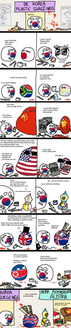 Korean Surgery, History Memes, I Don T Know, Hetalia, Countries, Haha, Funny Stuff, Jokes, Humor