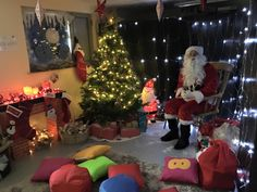 The Croft Primary School PTA grotto.  See more in the PTAsocial blog: Your Best Christmas Fair Ideas in 2015   http://www.ptasocial.com/your-best-christmas-fair-ideas-in-2015/
