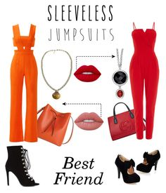 """Untitled #52"" by xoxodalya ❤ liked on Polyvore featuring Lodis, Gucci, Karina Grimaldi, WalG, Roberto Cavalli, Lime Crime and sleevelessjumpsuits"