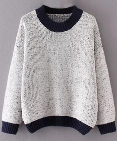 Never fear!! Sweater season is here!! So let's kick off the cold weather season with this easy & casual sweater. I love its simple and comfy design. And you'll love it, too.