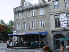 Ben & Jerry's Ice Cream Parlor in Vieux Port de Montréal.