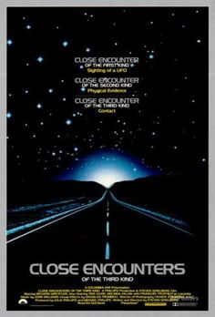 Filmposter Close Encounters of the Third Kind, 1977 Poster