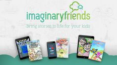 Parent friends, aunts and uncles with school-aged children in your lives, please have a look –Imaginary Friends - Bring Stories to Life for your Kids! #client