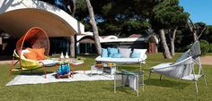 Catálogo Roche Bobois de terraza para este verano - http://www.decoora.com/catalogo-roche-bobois-terraza-este-verano/