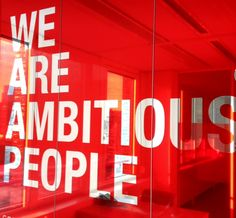 The Red Office. Ambitious People Amsterdam