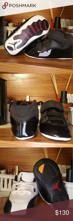 eccbc13e07 Retro baby Jordan s 4 pair of 2c retro Jordan s. See photos. Like new!   38 pair or  120 for all! Pet and smoke free home. Jordan Shoes Baby    Walker