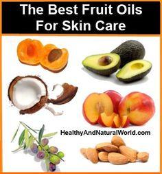 oils for skin care