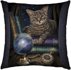 Fortune Teller Cushion von Lisa Parker