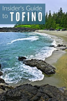 Tofino, British Columbia, sits at the edge of the Pacific on the wild west coast of Vancouver Island. This Insider's Guide shares travel tips on where to stay, eat and what to do in this wilderness paradise. british columbia pnw summer vacation th Vancouver Island, Vancouver Travel, Vancouver Vacation, Sunshine Coast, Nova Scotia, Rocky Mountains, Quebec, Alaska, Montreal