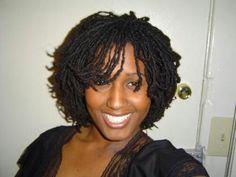 Sister Locks - Looks like some mini twists I did on my hair a few weeks ago