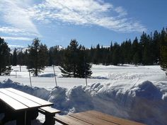 Tahoe Donner Cross Country Center in Truckee, California