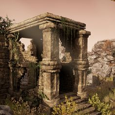 This modular package is designed to create ancient worlds.