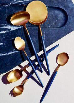 De l'art de la table en laiton