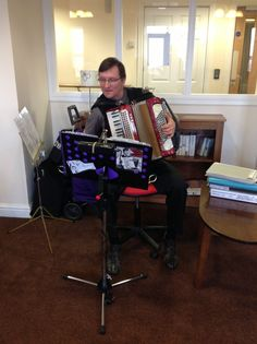 An afternoon of music & memories was had by all at Springhill Care Home Accrington Lancashire