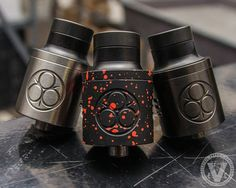 """The Eastwood RDA is here! Get to the EVCigarettes website quick because they're moving fast! Order the Eastwood by 12/15 and get FREE domestic shipping with the """"SHIP4FREE"""" promo code! This 24mm cloudchasing RDA features a unique dual clamp build deck to accommodate the most epic builds you can create! It also comes with black and white wide bore drip tips & extenders. The Eastwood RDA also features a fully adjustable dual """"E"""" airflow system, and an adjustable copper positive pin."""