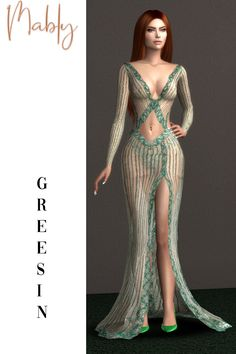 Mods Sims, Sims 4 Mods Clothes, Sims 4 Clothing, Pretty Prom Dresses, Elegant Dresses, Packs The Sims 4, Sims 4 Collections, Sims 4 Dresses, Sims4 Clothes