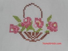 This Pin was discovered by Bah Cross Stitch Beginner, Mini Cross Stitch, Cross Stitch Heart, Cross Stitch Cards, Cross Stitch Flowers, Cross Stitching, Cross Stitch Designs, Counted Cross Stitch Patterns, Cross Stitch Embroidery