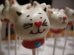 tom cat cake pop