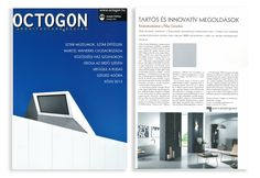 On the April's OCTOGON architecture magazine you'll find a four pages article about the Budapest Pólus Center renovation by the English studio Greig & Stephenson and the Hungarian studio Tomlin KFT. For this project have been used more than 6.000 square meters of our materials:  FOSSIL colllection, 45x45. JUST collection, 30x60 and 60x60.