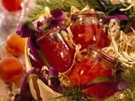 Flecked with snippets of tropical fruit, this jam is a delight for gift givers and receivers.  Once you try a spoonful, you'll agree that the little taste of paradise in every jar makes this jam such a popular present.