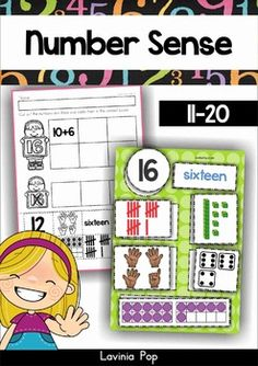 Teen Number Sense (11-20). Help students build number sense with this center activity and sorting worksheets.