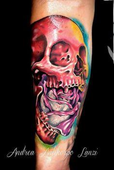 Tattoo artist Andrea Lanzi
