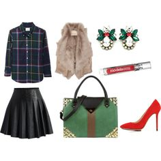 """""""Work Holiday Soiree"""" by handbagheaven on Polyvore #holidaywear"""