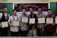 Eleven high school graduates and students were honored in a special recognition ceremony on July 23, 2015 for completing the annual Hawai'i High School Auto Academy.  The program sponsored by First Hawaiian Bank targets both public and private high school students, interested in the automotive industry.  They participate in an unpaid internship at a Cutter dealership in the mornings, then attend classes at Honolulu CC in the afternoon, five days a week for six weeks to total 120 classroom…