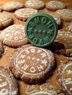 """handcraftmarie: Vanille-""""Kipferl"""" 2.0 im Shabby Chic Look ❤ (Keks-Stempel, Cookies mal anders)"""