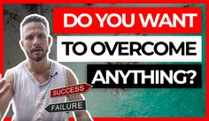 Want to learn how to make failure your biggest asset in life so you can overcome anything? In this video, I'm going to talk about why the challenges you've b. Success And Failure, Achieve Success, Visual Statements, Negative Thoughts, Law Of Attraction, Videos, Psychology, Challenges, Positivity