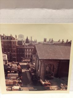 Covent Garden ~ October 1961, from my Grandpas office