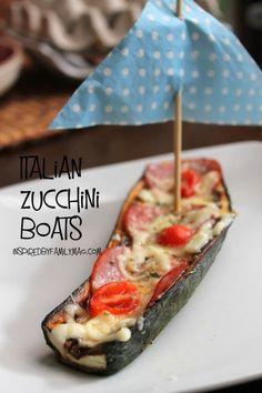 kid friendly zucchini boats