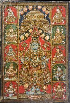 Tirupati Religious Painting, India