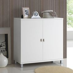 Shop for Baxton Studio Marcy Contemporary White Wood Storage Sideboard Cabinet. Get free shipping at Overstock.com - Your Online Furniture Outlet Store! Get 5% in rewards with Club O!
