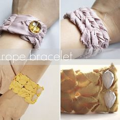 10 DIY tutorials for the most fashionable bracelets of the moment