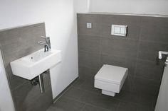 Tiles, guest toilet Source by simonewirz Laundry Room Bathroom, Laundry Room Design, Bathroom Toilets, Guest Toilet, Downstairs Toilet, Corner Sink, Bathroom Interior Design, Bathroom Inspiration, Powder Room