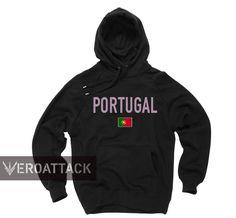 portugal black color Hoodie