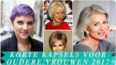 Kapsels oudere dames 2017