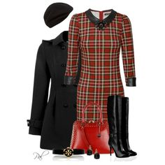 Plaid, created by pamlcs on Polyvore