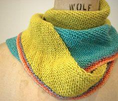 504 King West Scarf 4 or 3.5 mm, Circular Knitting Needles Yarn Weight: (2) Fine
