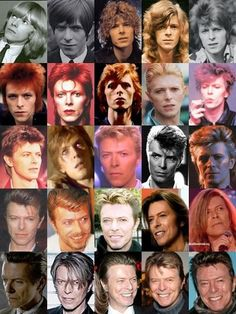 Its like he gets even better with age, like wine. #davidbowie #overtheyears