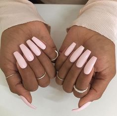 Imagen de nails, pink, and style