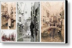 Images Of Venice Canvas Print / Canvas Art By Dorothy Berry-lound #venice #italy #interiordecor #printforsale